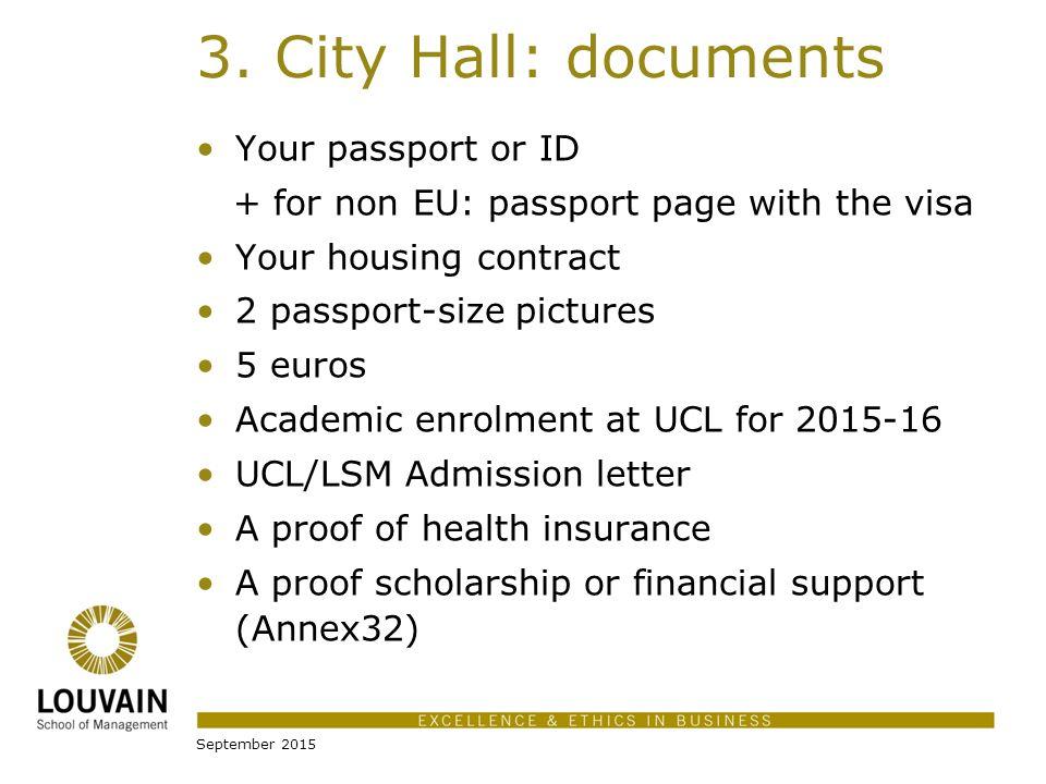 Louvain of Management Université Catholique de Louvain ... on