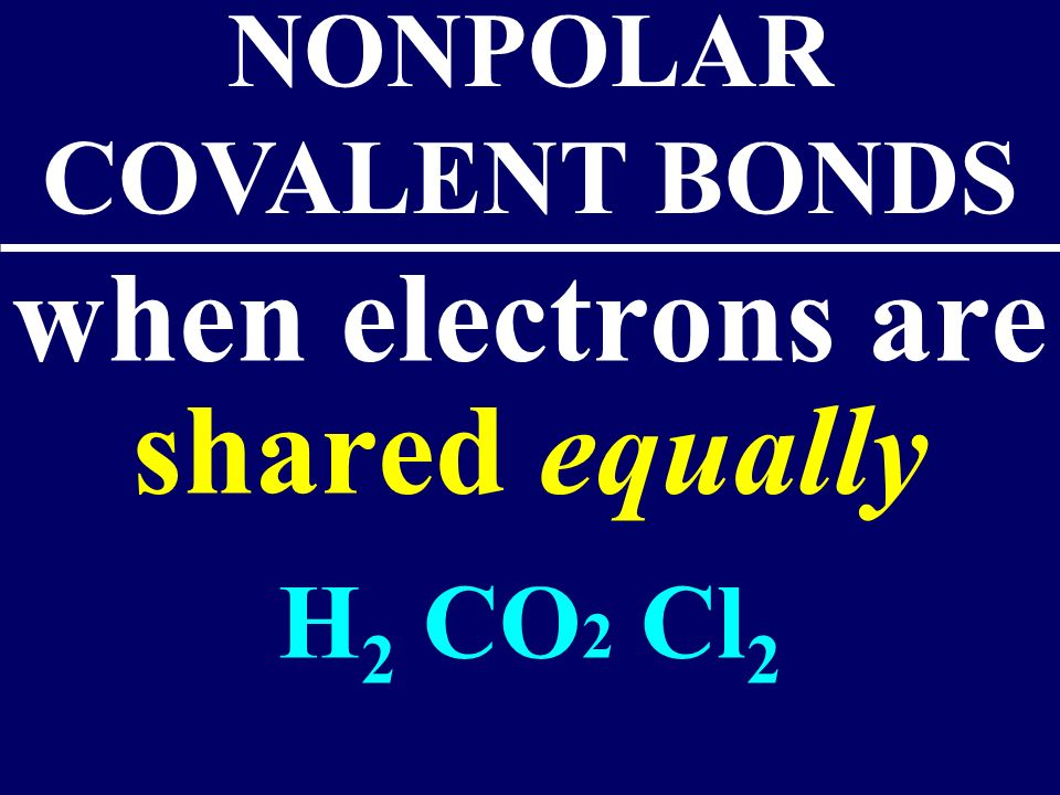 Bonds in all the polyatomic ions and diatomics are all covalent bonds Ex: NO 3 - CO 3 2-