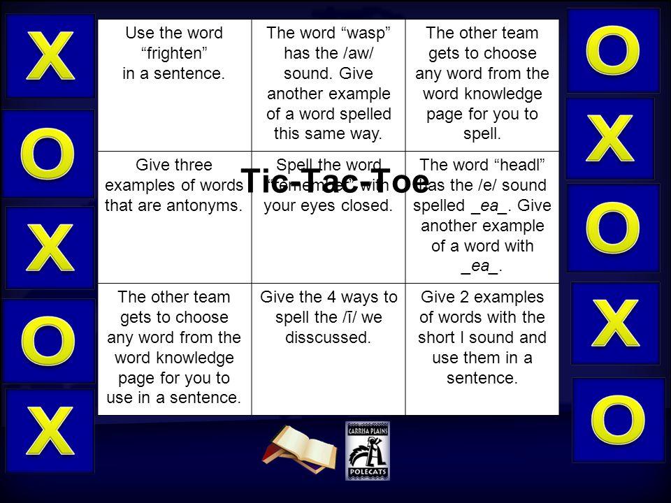 5 Word Knowledge