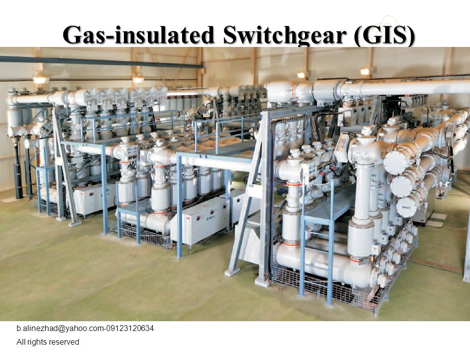Sf6 gas insulated substation ppt