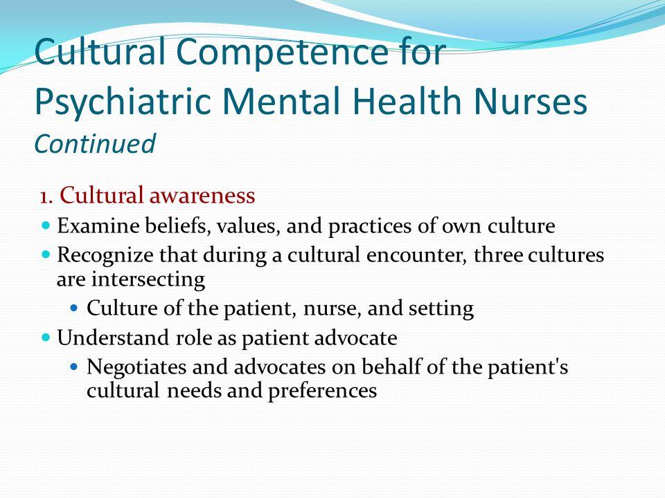 Cultural Implications For Psychiatric Mental Health Nursing Ppt