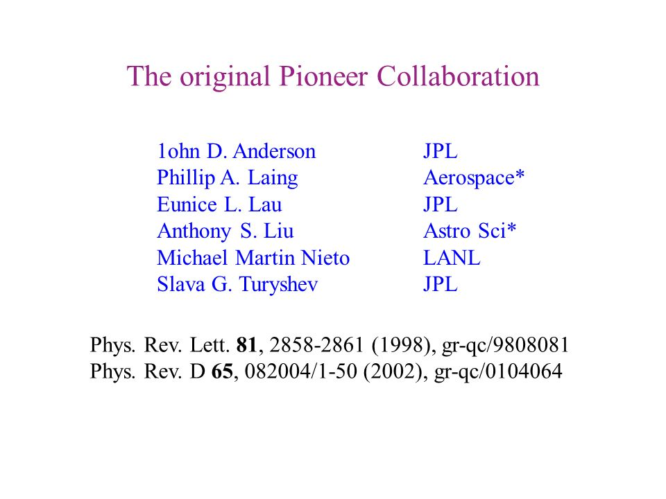 The Pioneer Anomaly: The Data, Its Meaning, and a Future