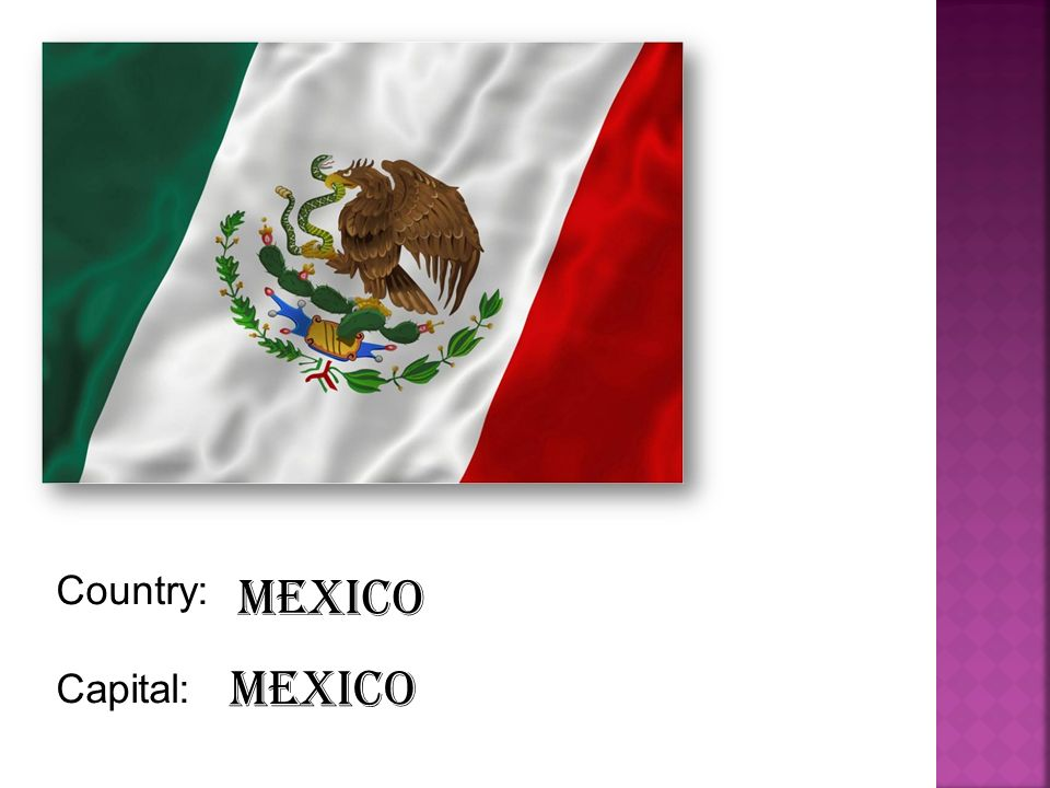 Country: Capital: Mexico