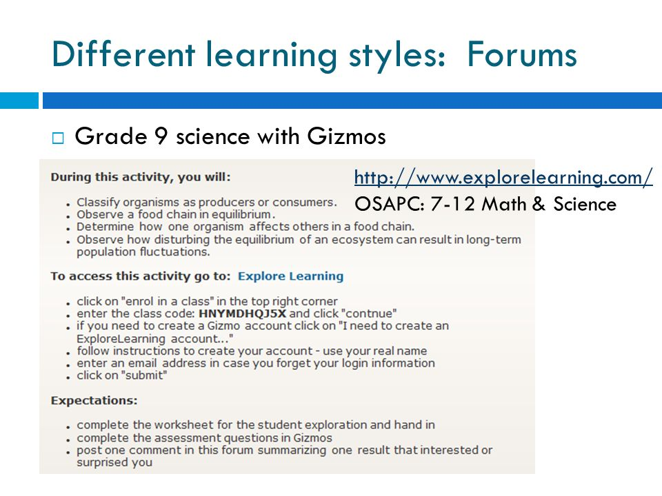 the different learning styles - 960×720