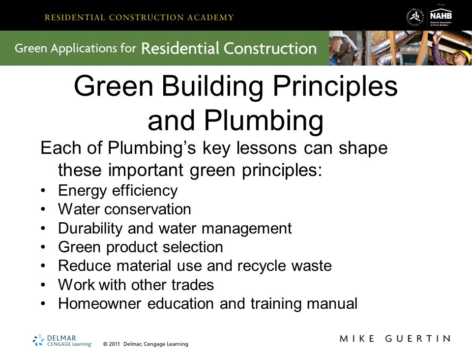 plumbing green application 2 key lessons from plumbing in plumbing rh slideplayer com Honeywell Thermostat Installation Manual Garage Door Installation Manual
