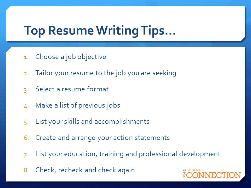 writing resumes 2014 Writing a custom resume for each job takes more effort, but the effort can pay off handsomely, especially when applying for jobs that are a perfect match for your qualifications and experience the extra time spent is often paid back in the form of interviews.