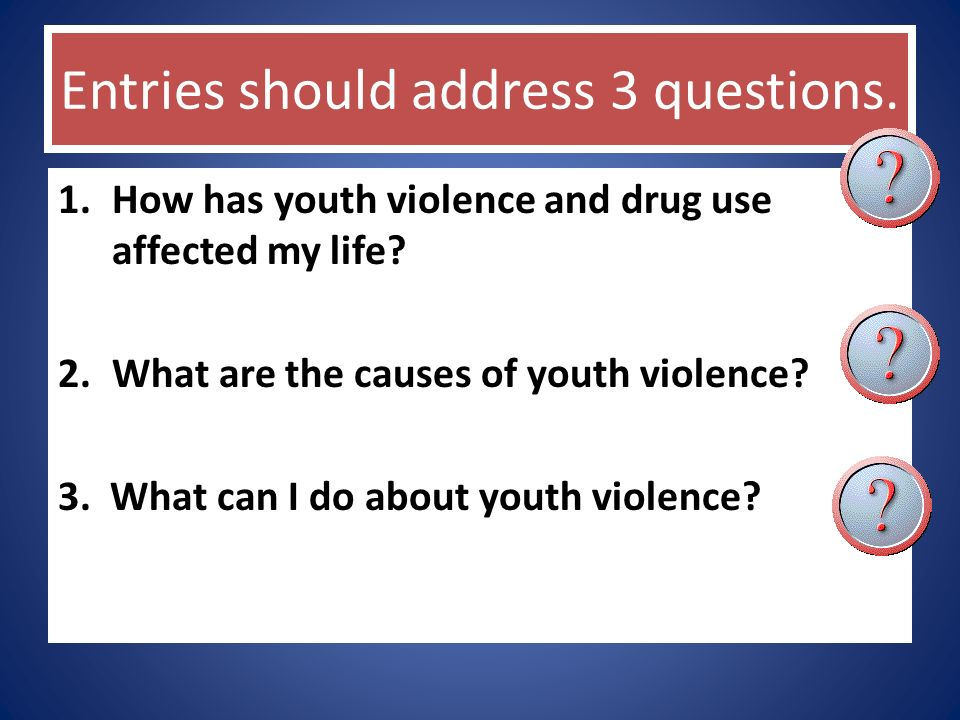 causes of youth violence