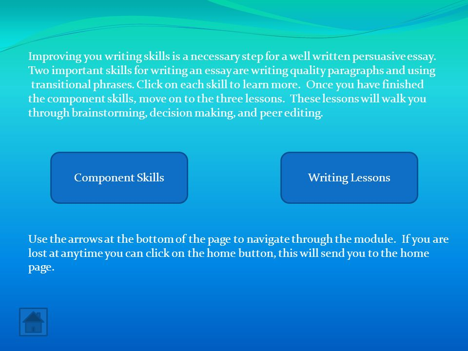 improving my essay writing When it comes to an essay, writing is really just the beginning many think that once the last period is typed, there is nothing more that can be done with the text the request to edit your essay is a natural desire of anyone who want to improve one's skills, and we are happy to do it for you.