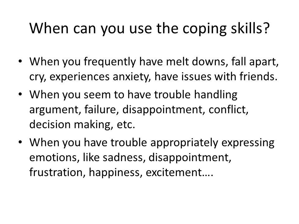 Teaching Children Coping Skills By: Mrs  Irina Stepanyan