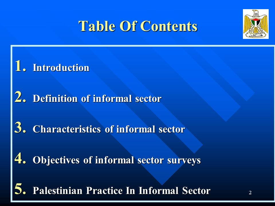 1 Palestinian Central Bureau of Statistics PCBS Experience