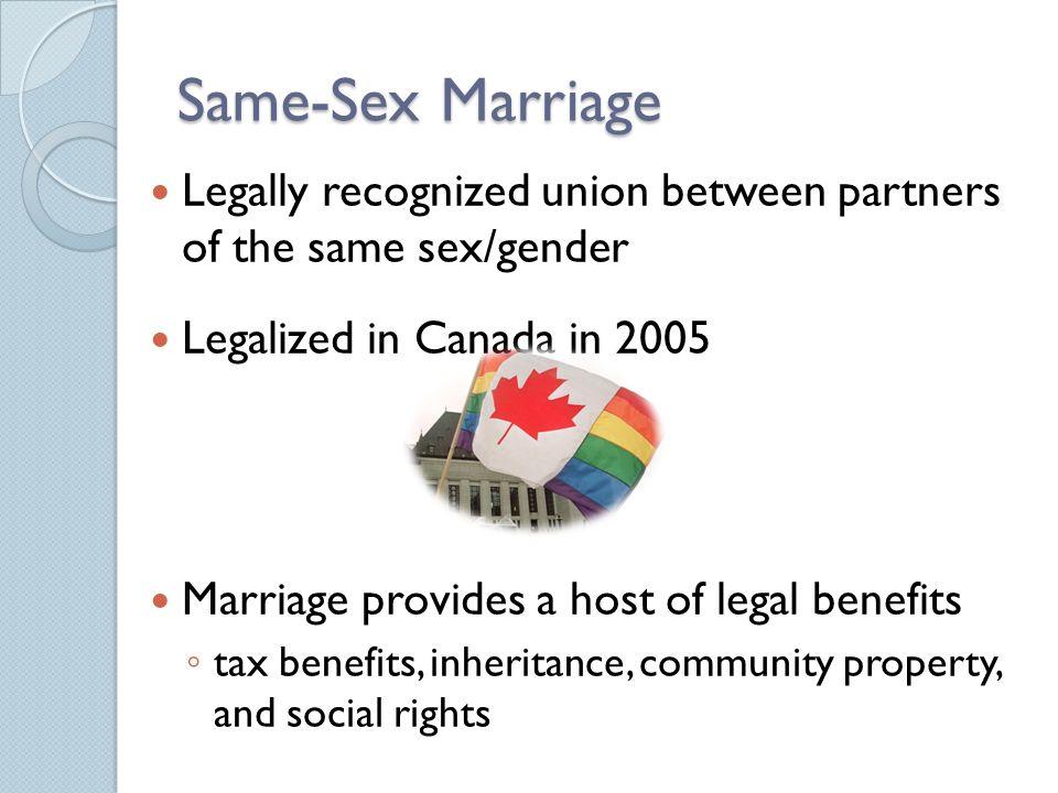 Canada sames sex inherit house