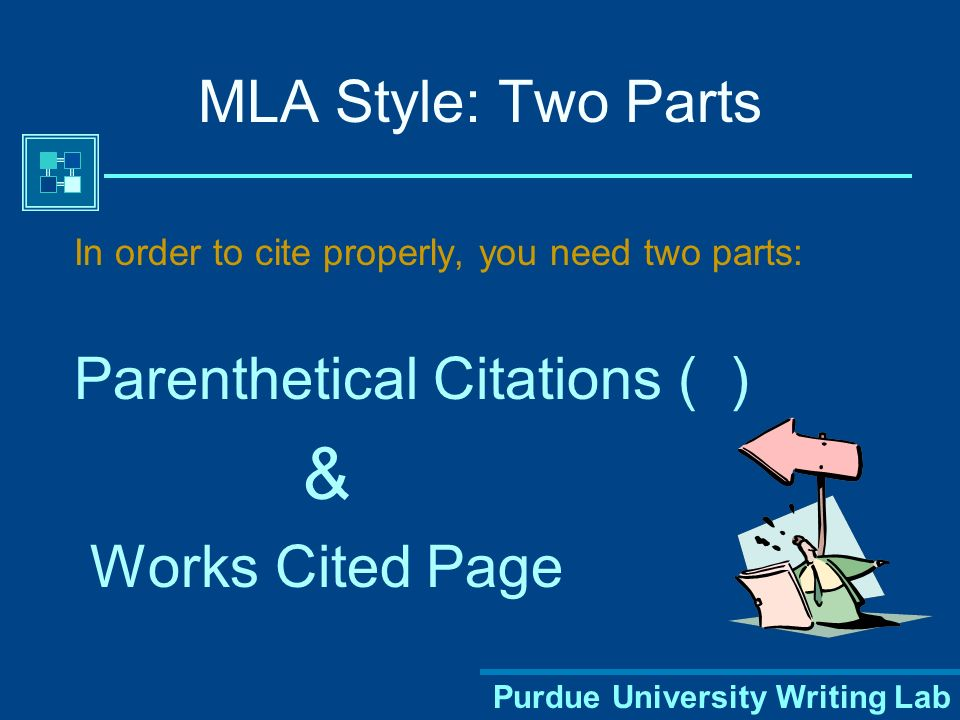 Purdue University Writing Lab Avoiding Plagiarism Proper citation of your sources in MLA style can help you avoid plagiarism, which is a serious offense.