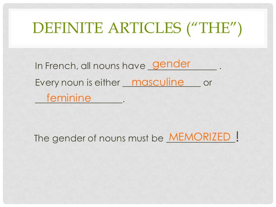 is calculatrice masculine or feminine