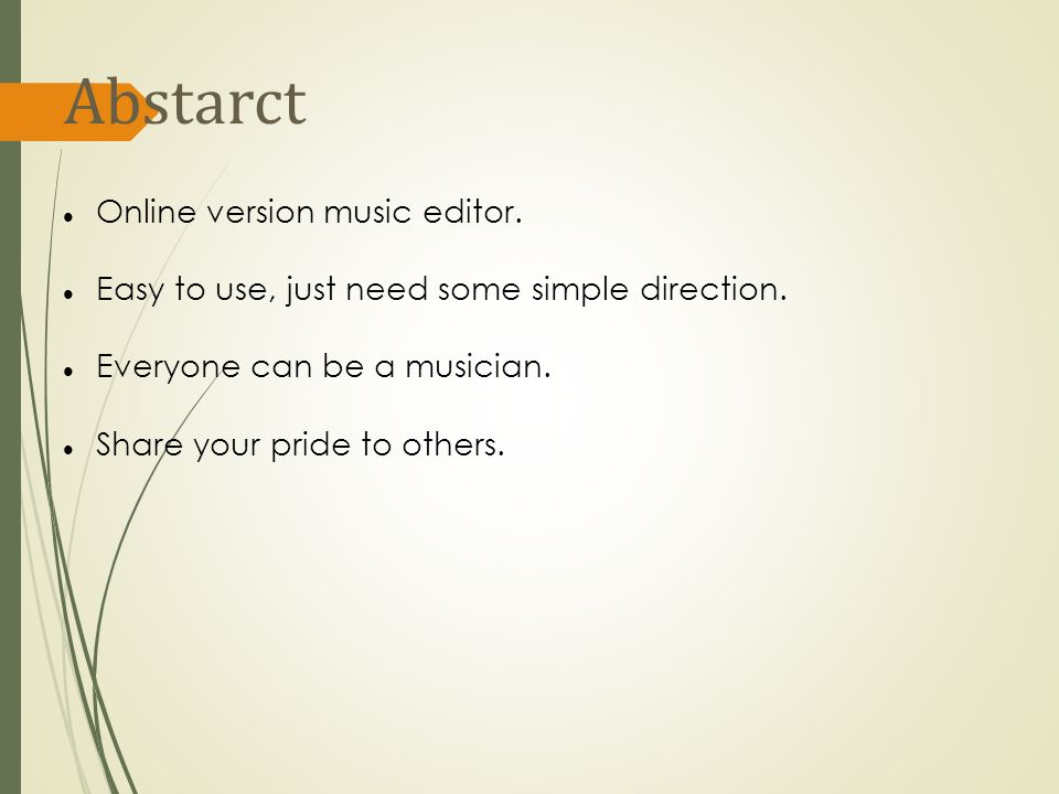 Music composition with HTML 5-Canvas  Abstarct Online version music