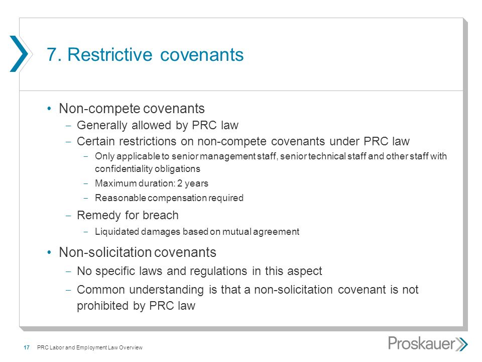 Prc Labor Employment Law Overview Ying Li Partner Hong Kong
