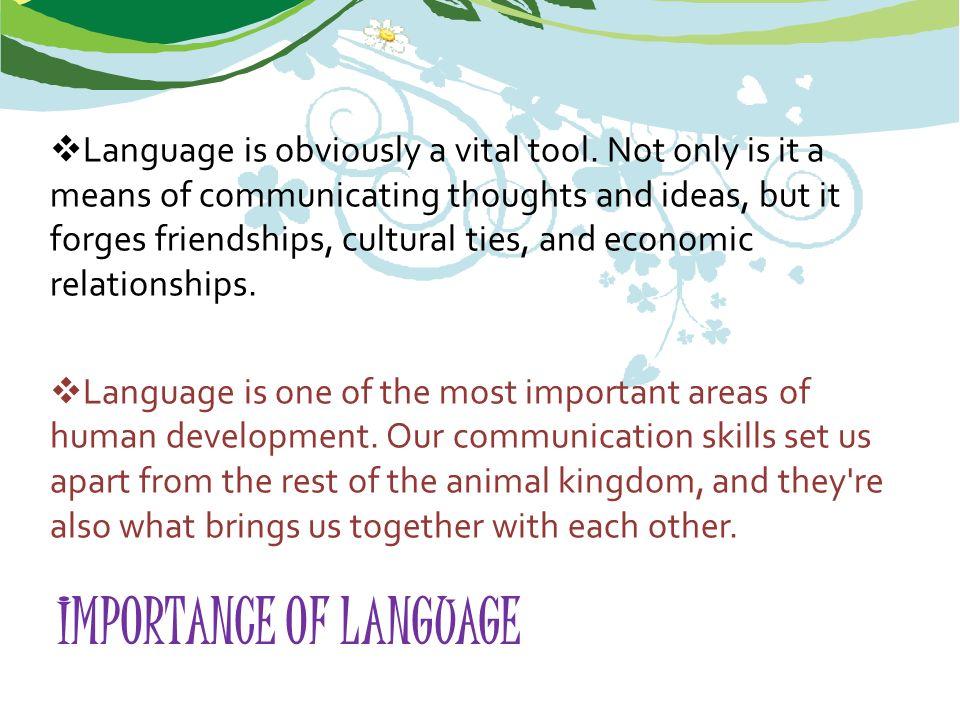 language brings us together