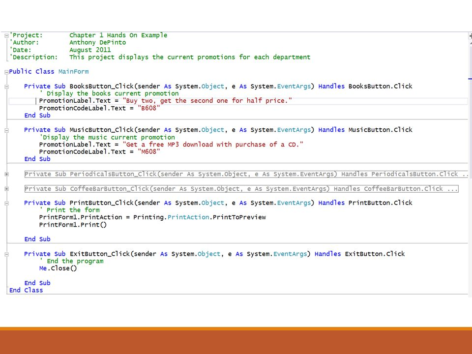 Introduction to Visual Basic  Introduction In this chapter