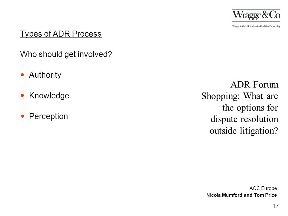 implementing an adr process essay Free essay on options for implementing a leadership change  gene one will need to decentralize its decision-making process for the benefit of the company.