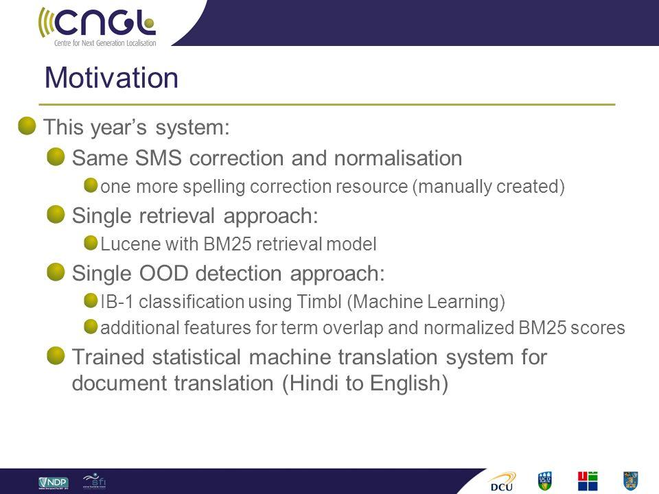 2012: Monolingual and Crosslingual SMS-based FAQ Retrieval