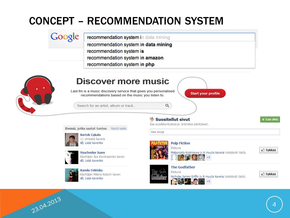 Recommendation system MOPSI project KAROL WAGA ppt download