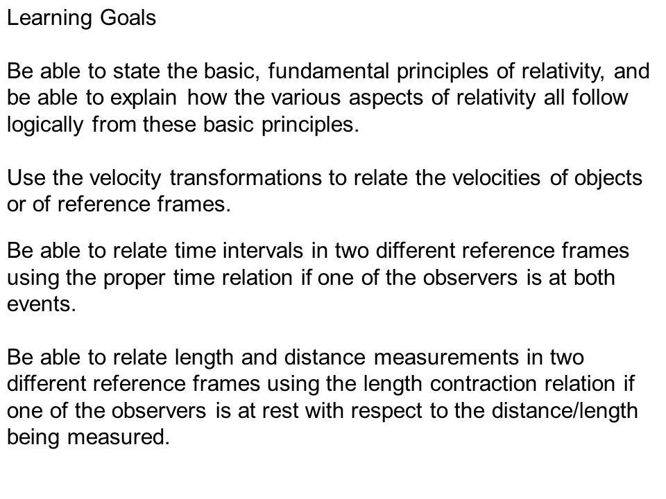 8f1650dcef Mon. Jan. 5 – Physics Lecture  16 Relativity – Basic Postulates 0 ...