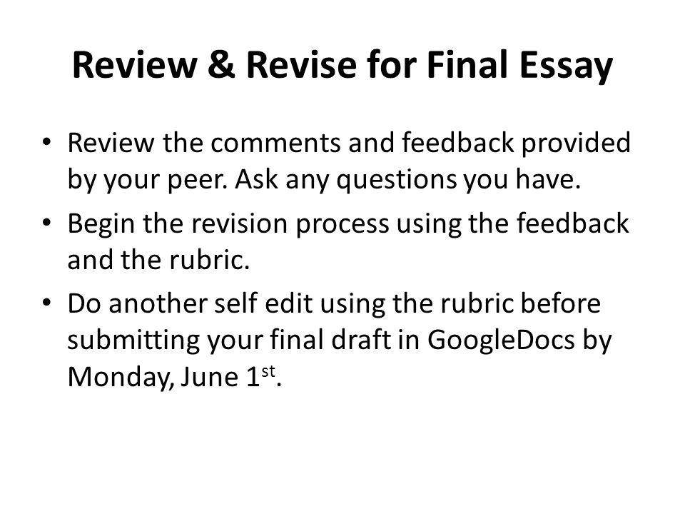 self analysis essay outline