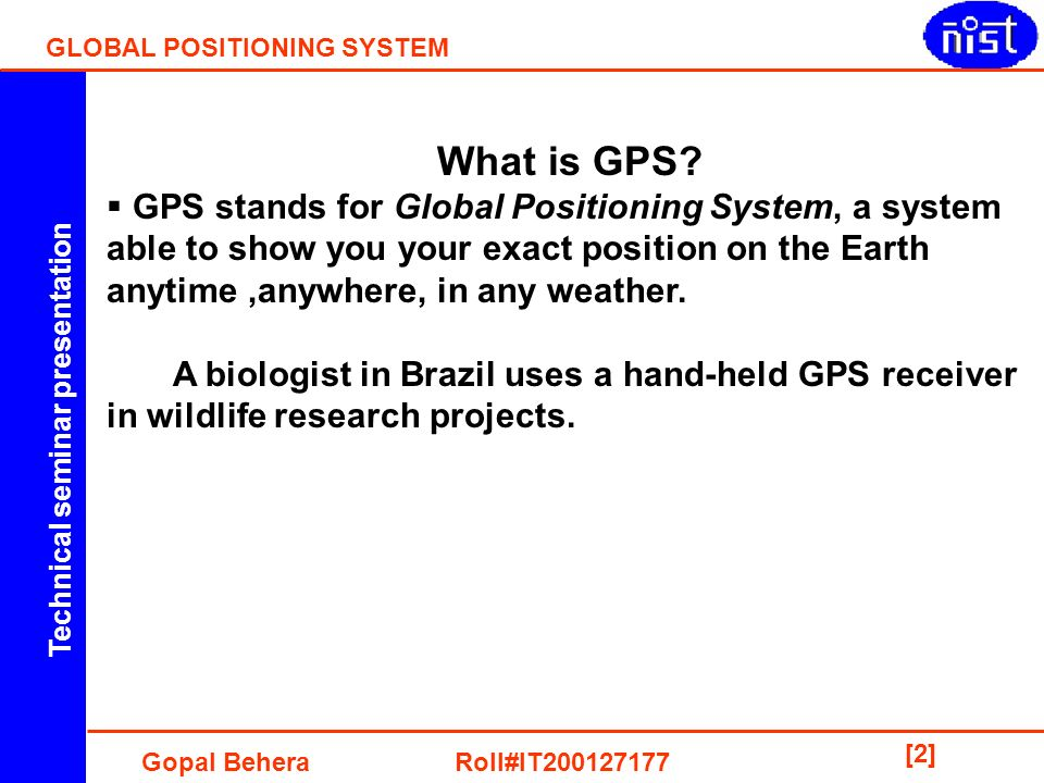 Global position 2