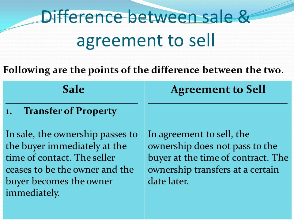 Contract Of Sale Of Goods Sale Of Goods Act Definition Of Contract