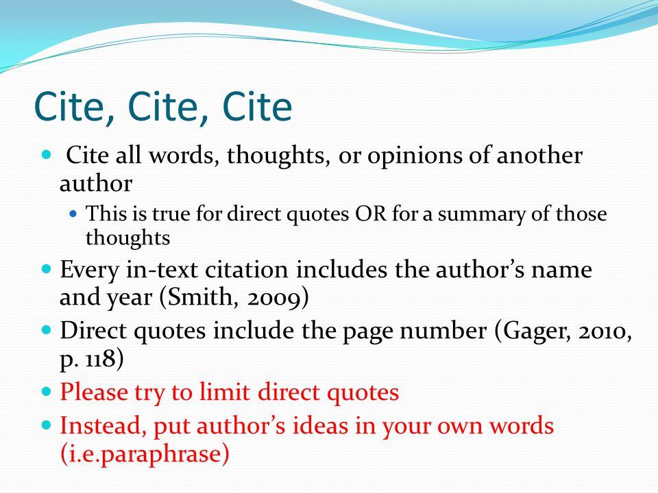5 cite