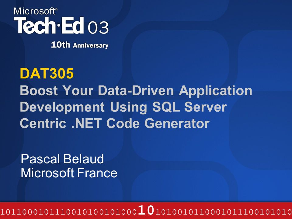 DAT305 Boost Your Data-Driven Application Development Using