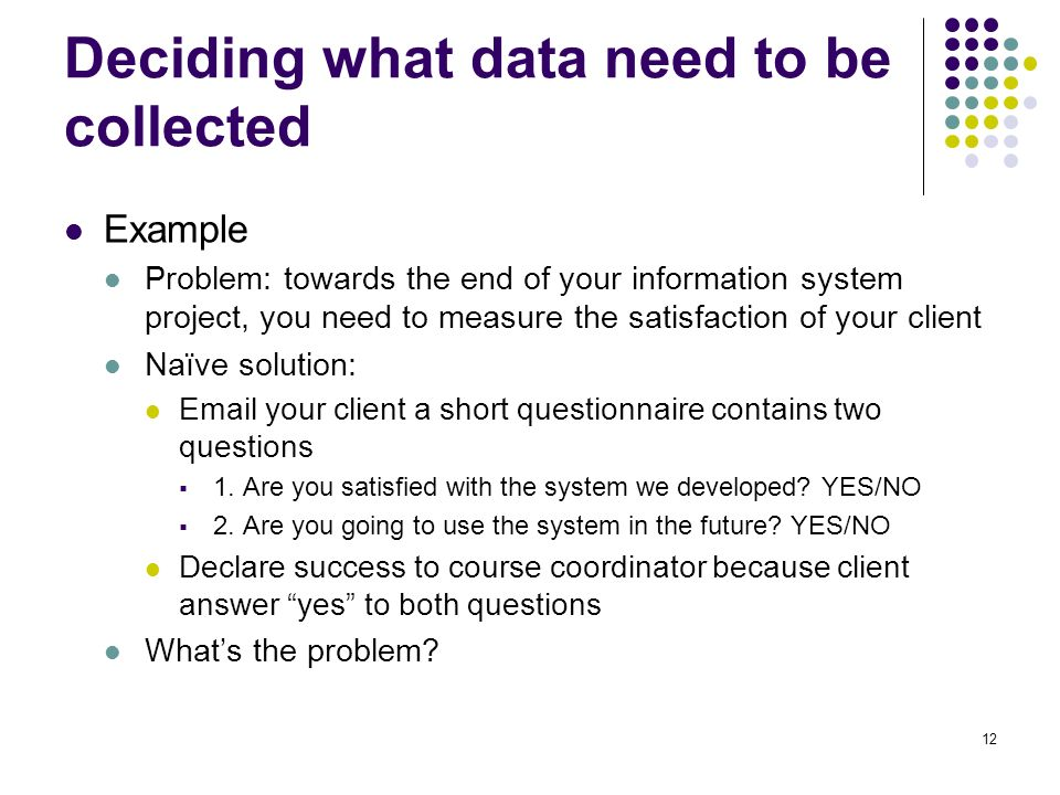 identify some primary data collection methods that could be used to collect data Based on figure 61, the method of data collection can be classified into survey methods and observation methods a) survey method according to zikmund, babin, carr and griffin (2010), survey is a research technique in which a sample is interviewed in some form or the behaviour of respondents is observed and described in some way.