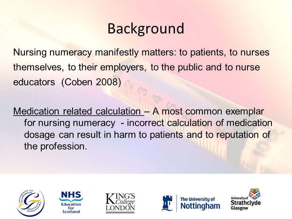 pre entry numeracy test nursing