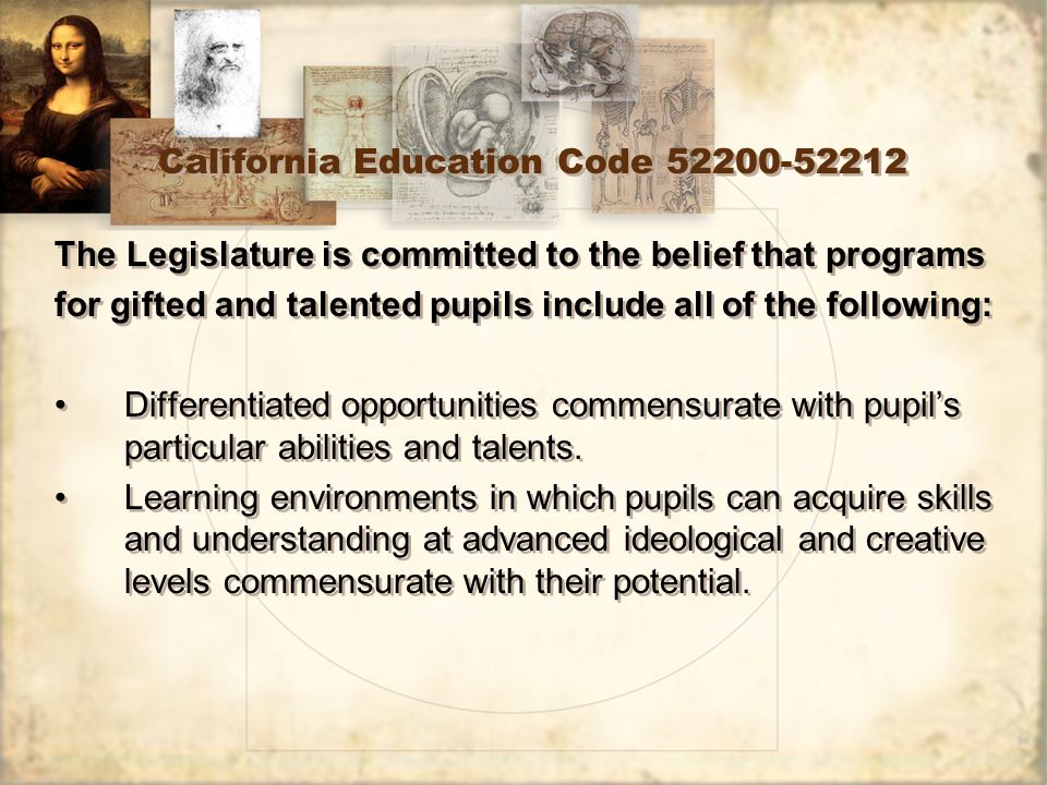 4 California Education ...