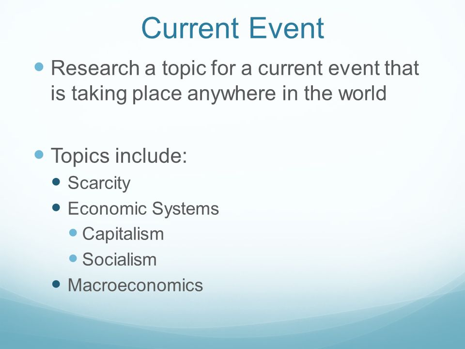economics current event Other events junior recruiting seminar events filter by event type.