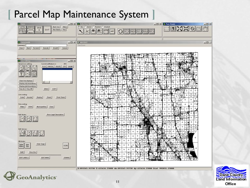 1 [ Dane County GIS: The ] Vision, Strategies, and ... Dane County Gis Map on