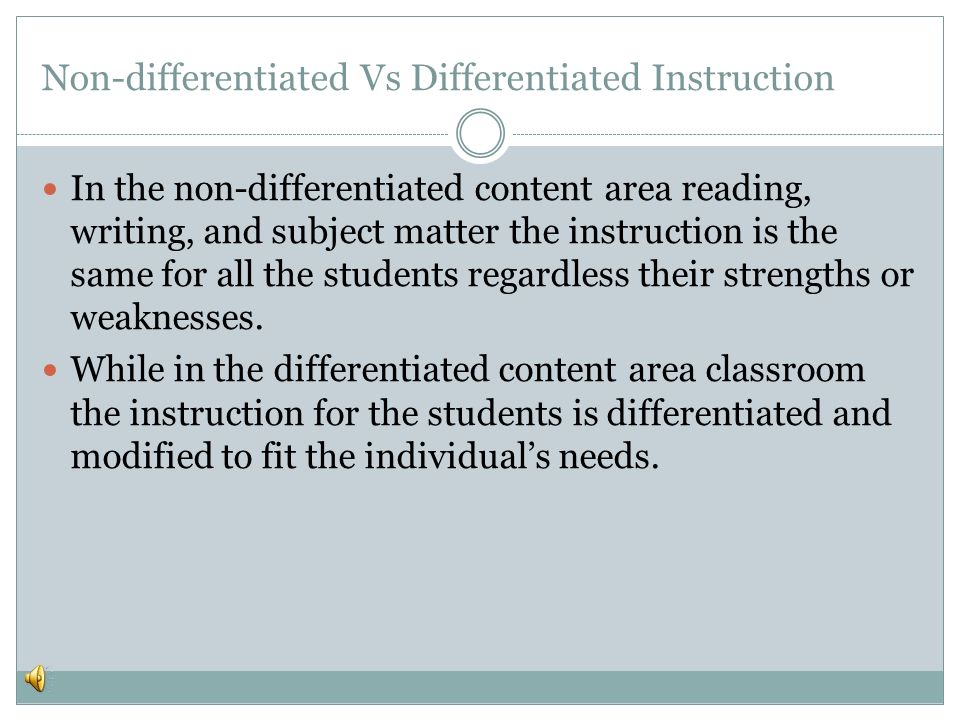 Differentiating Instruction Created By Rocio Ayala Narrated By