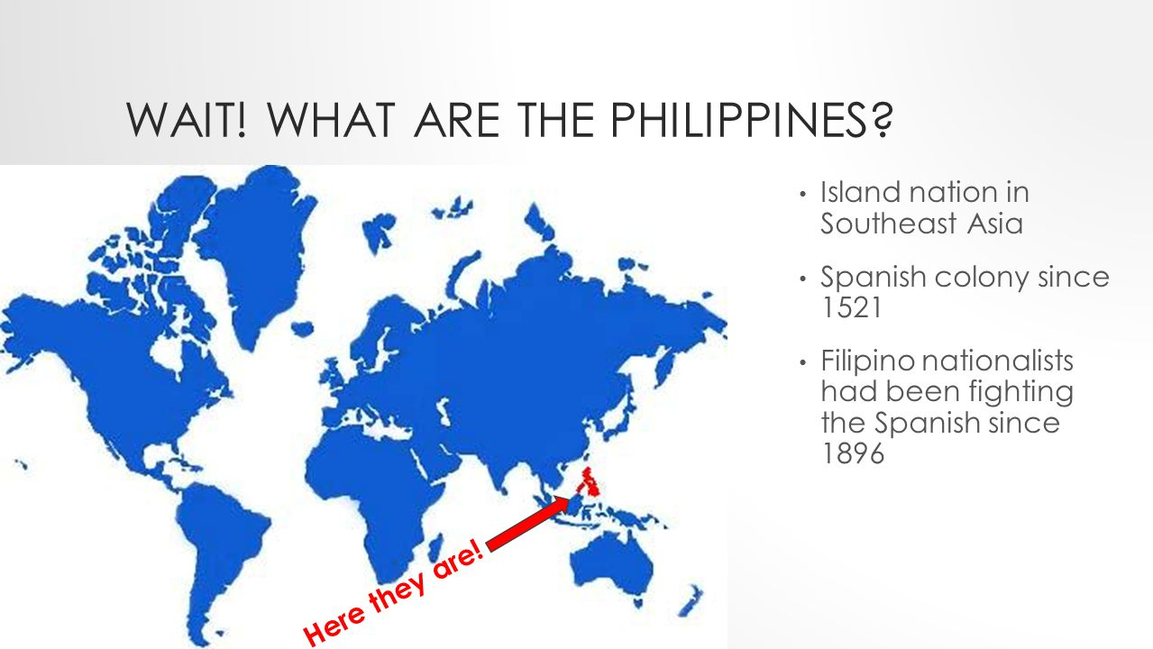 AMERICAN EMPIRE AND THE PHILIPPINES The aftermath of the Spanish
