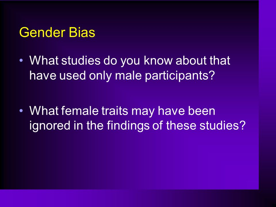 essay on gender bias in society Read this full essay on gender bias in business anytime job performance, a promotion or effectiveness comes forth in a job evaluation, the the united states suffers from a major social issue relating to gender bias and the use of sexual discrimination sexual discrimination is any action that.