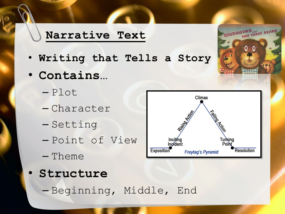 plot setting point of view and tone Vocab- english 1, bright 2012 study play plot a series of related events in a story, each connected to the next language that appeals to one or more of the 5 senses tone the writer's attitude toward a subject or character, or toward the audience the teller of a story omniscient point of view.