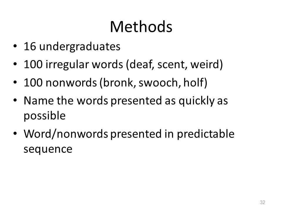 PSYC 3290 Psycholinguistics When letters combine: Building words and  constructing a mental dictionary January 28, ppt download