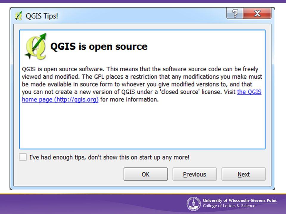QGIS (v2 2) Intro to QGIS What is QGIS? A free, open-source desktop