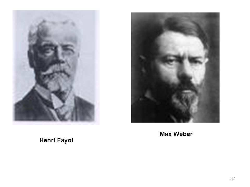 henri fayol and max weber