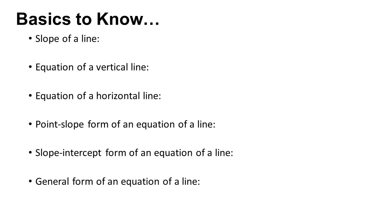 Hpc 16 Notes Learning Targets Interpret The Slope Of A Line