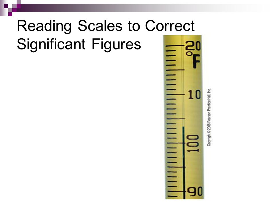 Reading Scales to Correct Significant Figures