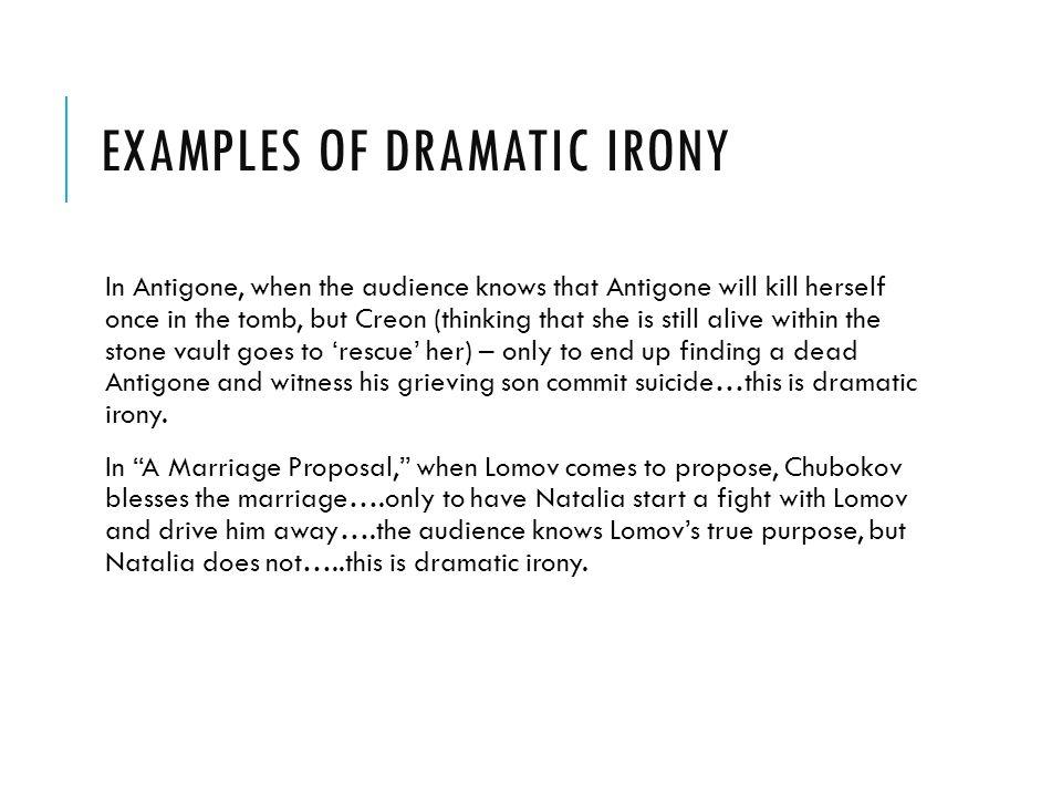 examples of irony in antigone