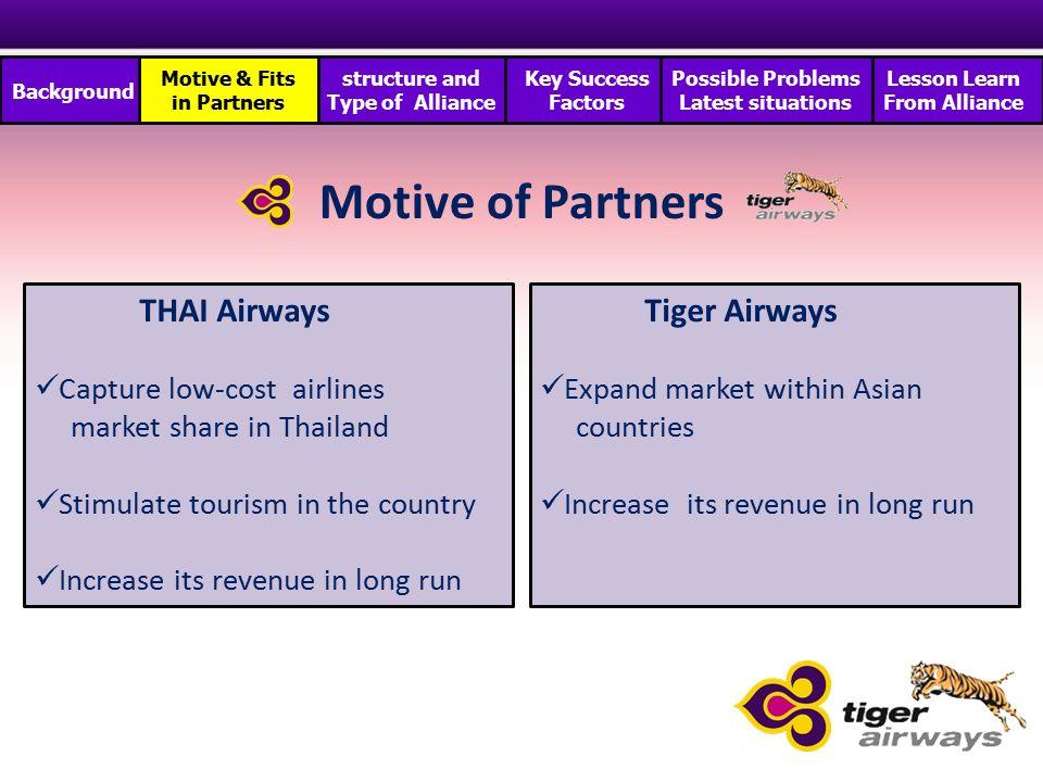 thai airways marketing strategy