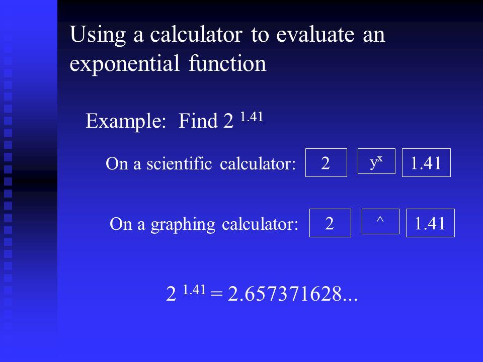 Sullivan Algebra and Trigonometry: Section 5 3 Exponential