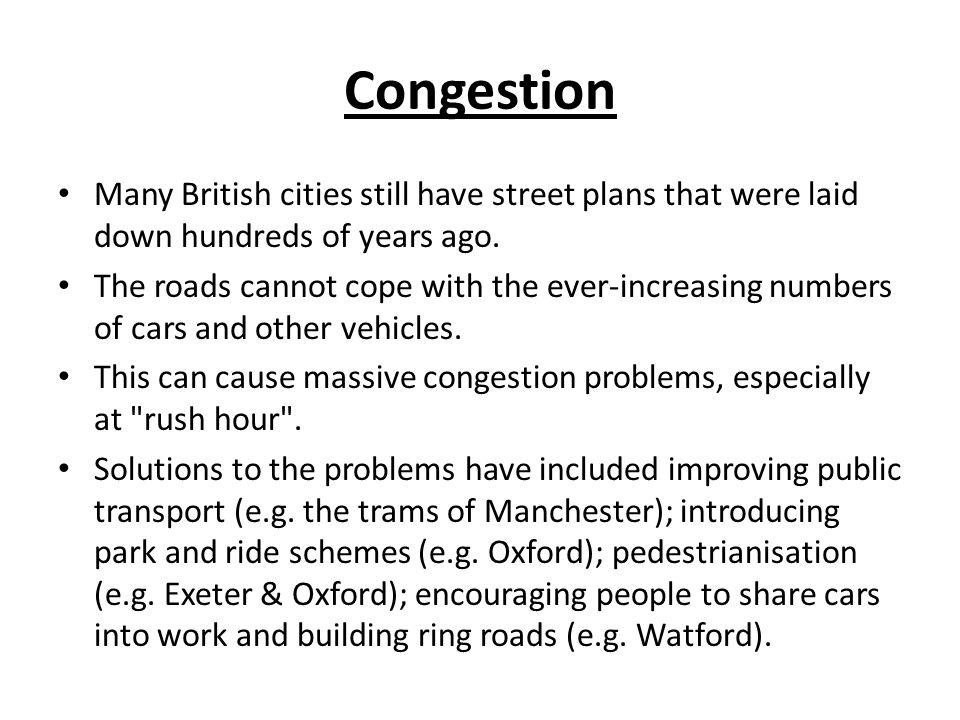 topic on urbanisation