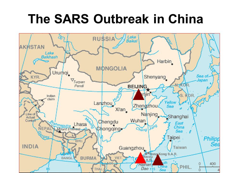 Severe Acute Syndrome (SARS) –Caused by ... on who sars 2003 june spreading map, biological weapons casualties map, the global spread of buddhism map,