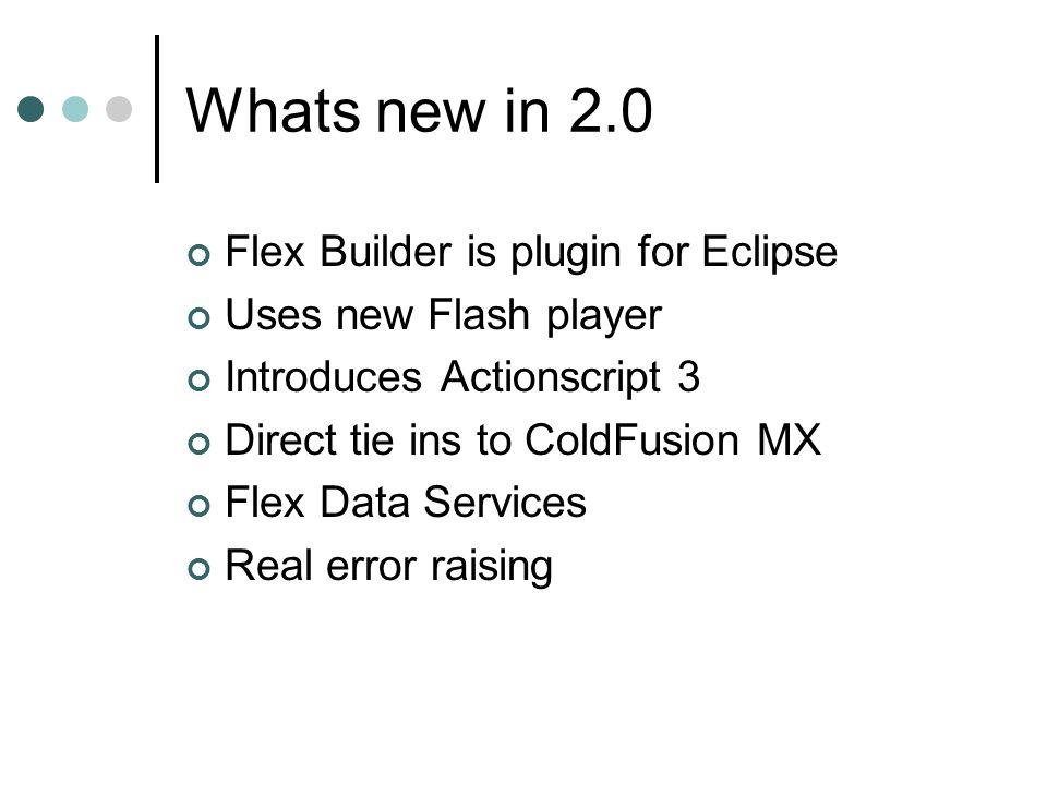 Flex 2 0 Flex for ColdFusion developers Part 1  What is Flex Flex